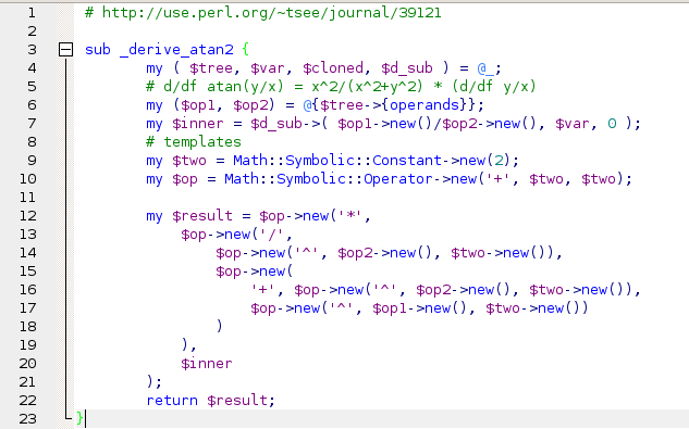 perl script template - how to write a perl script that contains two packages